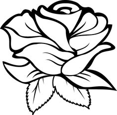 Machine Embroidery Designs, Embroidery Patterns, Rose Stencil, Wood Burning Patterns, Flower Coloring Pages, Rose Embroidery, Stained Glass Patterns, Cricut Creations, Stencil Designs