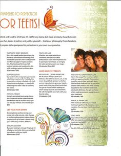 Disney Dream - Chill Spa Menu (Prices) for Teens - Page 3 by PassPorter Jennifer, via Flickr