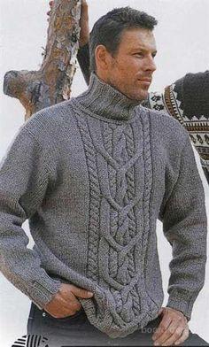 Вязанные свитера мужские купить