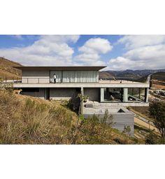Arquitetura decora o and blog on pinterest for Fachadas de casas modernas trackid sp 006