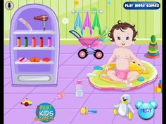 Baby Fun Bathing game for Kids by BOKGames