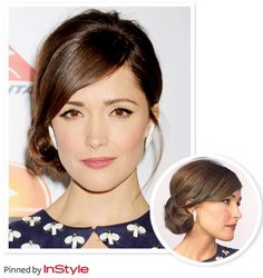 """Bridesmaids...Rose Byrne — """"I wanted something simple. I love the 1970s feel that this look has."""""""