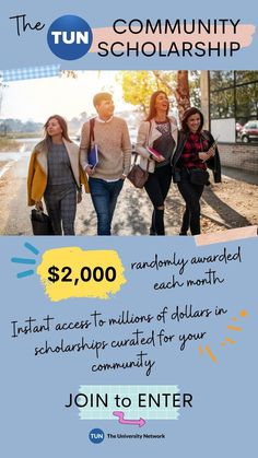Join the TUN community at your school to enter! →$2,000 randomly awarded each month →Instant access to millions of dollars in scholarships currated for your community →Takes just a minute to join Millions Of Dollars, Scholarships For College, Instant Access, Awards, University, Community, Memes, School, Meme