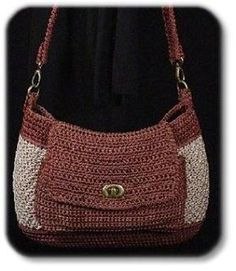 crochet bag purse by Meghan McCuistion