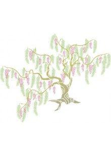 Willow Tree Stencil