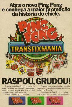 Ping Pong Figurinhas Transfix #nostalgia
