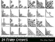 Image result for border flourish art