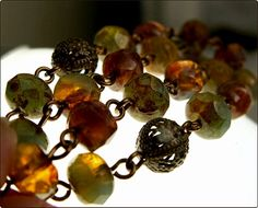 From a Czech glass bead lover & blogger.