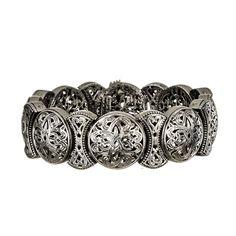 Gerochristo Jewelry Filigree collection bracelet in sterling silver