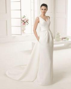 Vestidos de novia 2016 sencillos y con estilo minimalista: Los diseños perfectos Image: 22