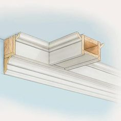 Box Beams: Intricate combinations of wood pieces, box beams can stretch across a ceiling in a parallel manner or create a pattern overhead, such as a series of squares.