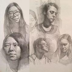 Kevin Wueste @kevinwueste Sketchbook head s...Instagram photo | Websta (Webstagram)