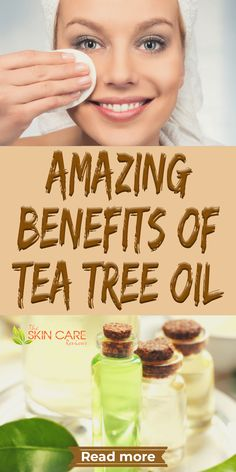 With a wide number of applications, tea tree is a multi-purpose oil for skin, hair, home and more. Discover its amazinf benefits at theskincarereviews.com #teatreeoil #bestteatree #teatreebenefits Oily Skin Care, Healthy Skin Care, Anti Aging Skin Care, Tea Tree Benefits, Organic Skin Care, Natural Skin Care, Clear Skin Tips, Facial Wash, How To Treat Acne
