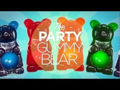Real gummy bear fit to feed an entire party! Even has a bowl shaped tummy to fill up with other goodies!