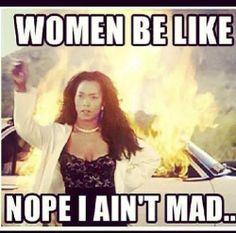 woman be like