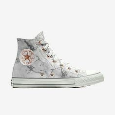 Trendy Sneakers 2018 : Converse Custom Chuck Taylor All Star Marble High Top Shoe ❤ like Converse All Star, Outfits With Converse, Converse Shoes, High Top Converse, Converse Classic, Adidas Shoes, Converse Chuck Taylor, Sock Shoes, Cute Shoes