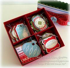 #Christmas tag box