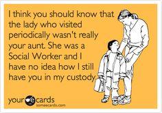 social worker...