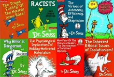 Thoughts about the deeper meanings in Seuss books--a short paragraph about each book