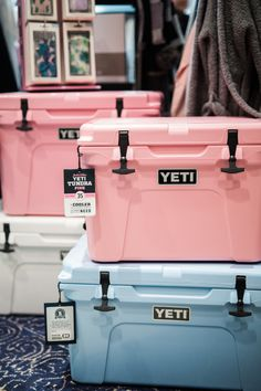 yeti coolers from Climate Small Cooler, Cooler Box, Summer Picnic, Summer Fun, Pink Yeti Cooler, Yeti Roadie, Yeti Brand, Yeti Tundra, Mugs
