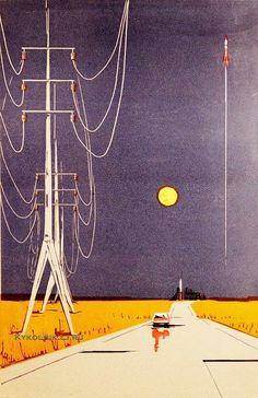 Колосков Владимир Георгиевич (1924) «Дорога на космодром» 1969