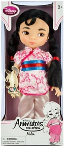 Disney Princess Animators Collection 16 Inch Doll Figure Mulan New  | eBay