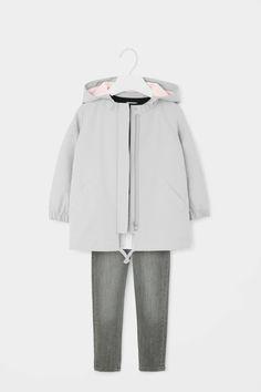 Zip-up cotton parka Small Wardrobe, All Kids, Kids Outfits Girls, Wardrobes, Parka, Nike Jacket, Zip Ups, Cotton, Clothes