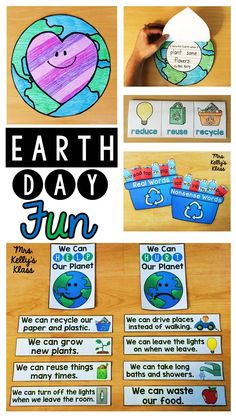 LOVE these fun Earth Day activities and stations!!
