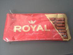 Penaali suklaalevykääreestä / Little bag from chocolate wrapper