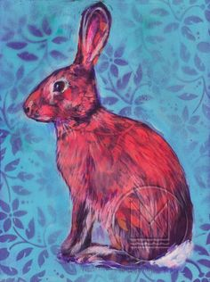 Image result for rabbit painting Bunny, Colours, Rabbits, Dawn, Easter, Painting, Animals, Image, Collection