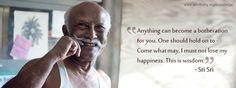 Inspirational quotes on Self Realization by Sri Sri Ravi Shankar.