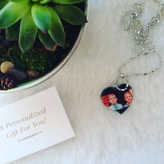 My mother has been asking for a necklace like this forever! I'm very excited to give her this Photo Heart Pendent from @pcgifts for #MothersDay this year. #ad