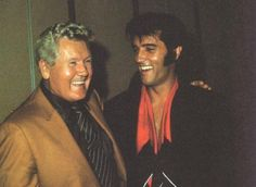 *VERNON ~ and his son ELVIS 1969