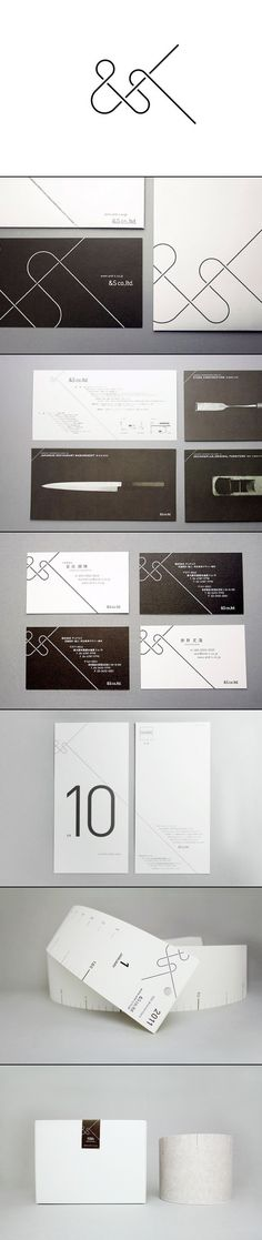 Branding & Identity for &S co,| typography / graphic design: SAFARI inc. |