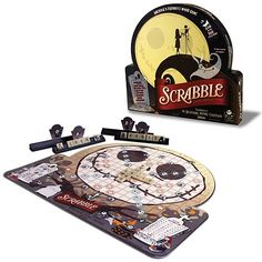 Nightmare Before Christmas Scrabble Game