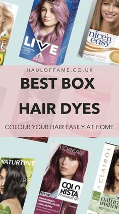 The Best At-Home Box Hair Dyes for DIY Hair Colouring