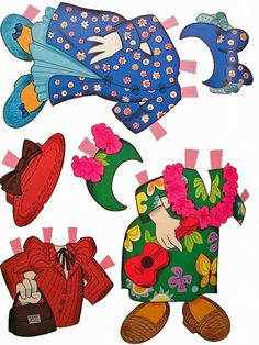 Mickey_Mouse_Donald_Duck_paper_dolls025.jpg (600×800)* 1500 free paper dolls The International Paper Doll Society Arielle Gabriel artist ArtrA Linked In QuanYin5 *