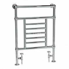 Bathroom B option: Ultra Traditional HW323 Dorchester Heated Towel Rail - 695 x 965mm £319.50