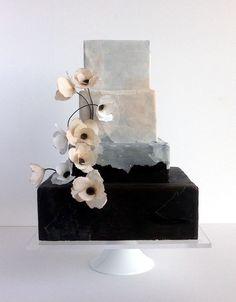 Beautiful Torn Paper Cake!! by jasmine rae cakes