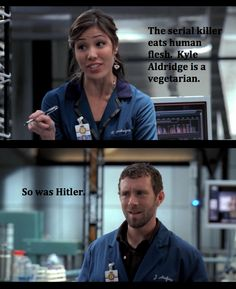 haha Angela and Hodgins