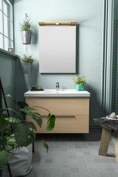 Muuta kylpyhuoneesi raikkaan näköiseksi käden käänteessä näiden viiden helpon vinkin avulla. Vanity, Bathroom, Dressing Tables, Washroom, Powder Room, Vanity Set, Full Bath, Single Vanities, Bath