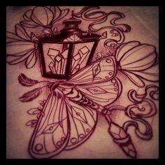 Moth Tattoos Designs & Ideas : Page 117