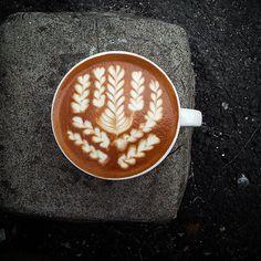 1...2..3......9 rosettas! Yum! #latteart #coffee