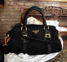 ; and this is the Prada bag I want - my mission when I head to Europe one day.