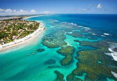 Porto de Galinhas beach, Pernambuco, Brazil