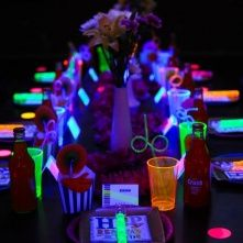 Glow In The Dark Party Idea.