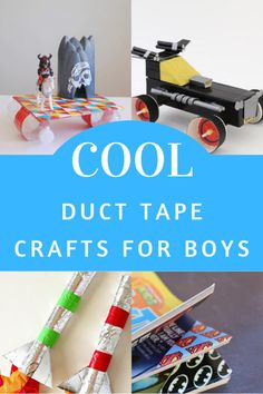 Cool Duct Tape Crafts for Boys to Make
