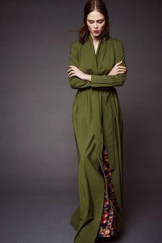 Zac Posen Resort 2016 Fashion Show