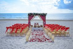 The wedding coordinators are very knowledgeable about South Asian weddings and will be able to create the perfect event #SecretsMaromaBeachRivieraCancun #Mexico #DestinationWedding