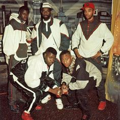 Dapper Dan owned a boutique in Harlem in 1988 which laced most relevant Hip Hop artists liike: Eric b & Rakim , Big Daddy Kane, L.L Cool jay & even Mike Tyson.